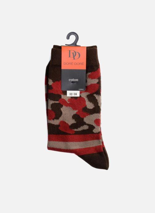 Sokken en panty's Doré Doré Sokken ARMY Grijs rechts