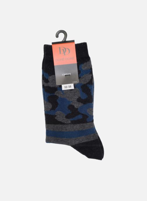 Socks & tights Doré Doré Socks ARMY Grey view from the right