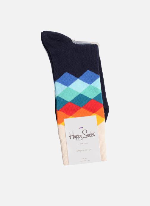 Calze e collant Happy Socks Calze FADED DIAMOND Azzurro immagine destra