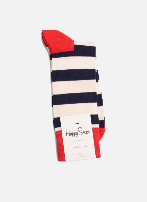 Sokken en panty's Happy Socks Sokken STRIPES Blauw rechts