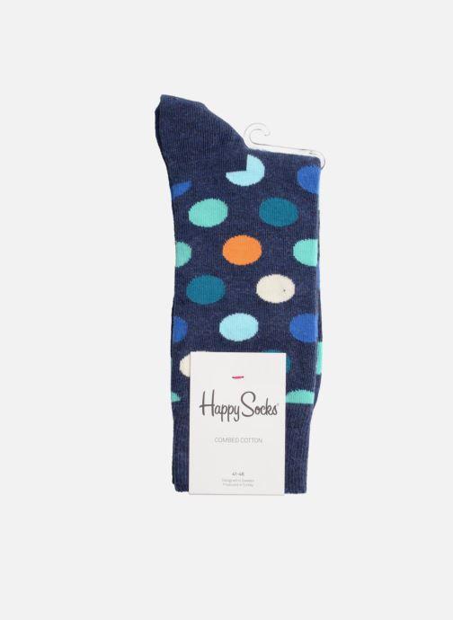 Socks & tights Happy Socks Socks BIG DOT Blue view from the right