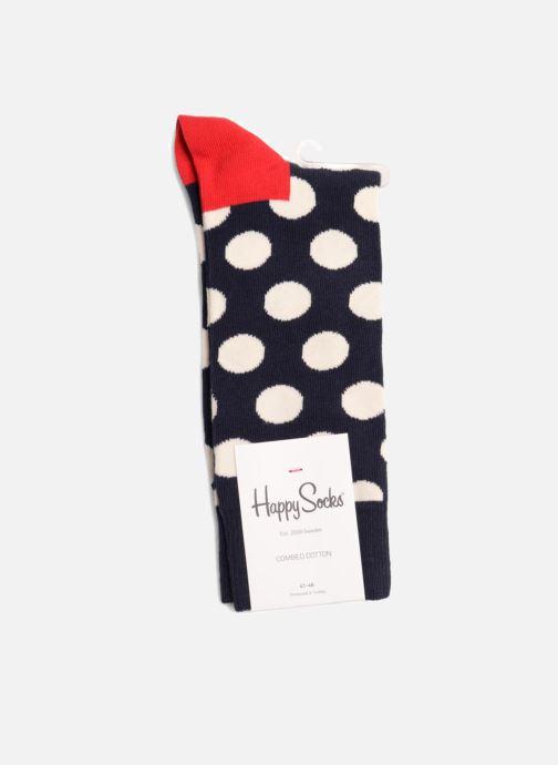 Strømper og tights Happy Socks Strømper BIG DOT Blå Se fra højre