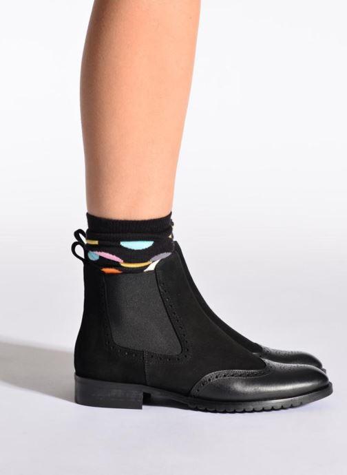 Socken & Strumpfhosen Happy Socks Socken BIG DOT schwarz schuhe getragen