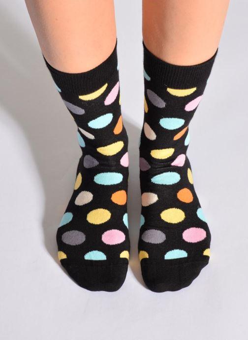Sokken en panty's Happy Socks Sokken BIG DOT Zwart detail