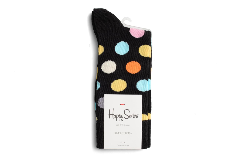 Chaussettes et collants Happy Socks Chaussettes BIG DOT Noir vue droite