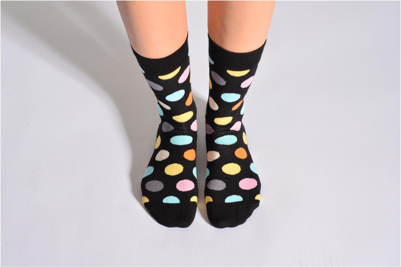 Chaussettes et collants Happy Socks Chaussettes BIG DOT Noir vue détail/paire