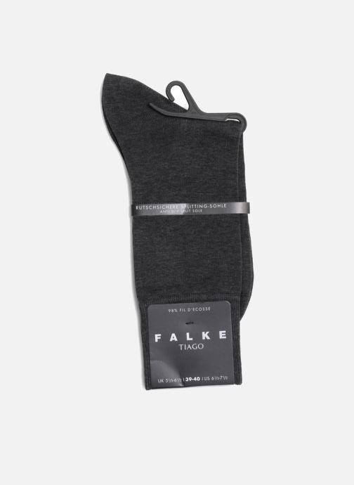 Chaussettes et collants Falke Chaussettes Tiago Gris vue droite