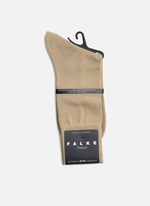 Chaussettes et collants Falke Chaussettes Tiago Beige vue face