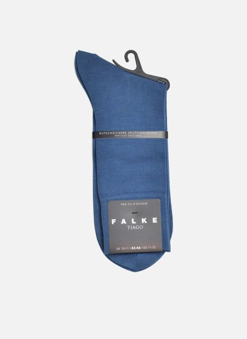 Socks & tights Falke Socks TIAGO Blue back view