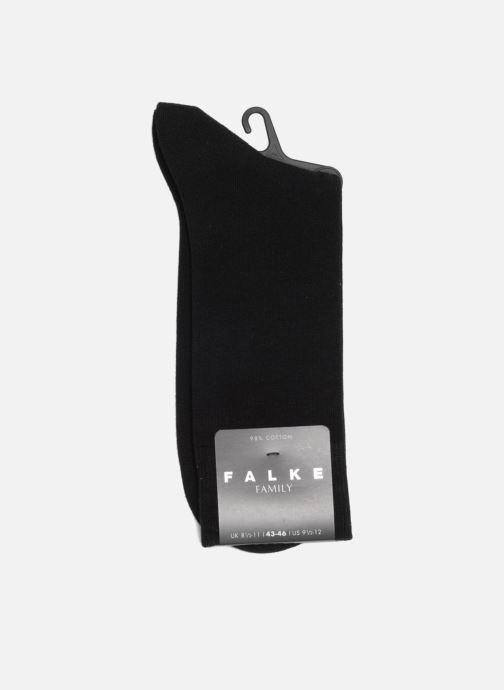 Chaussettes et collants Falke Chaussettes FAMILY Noir vue droite