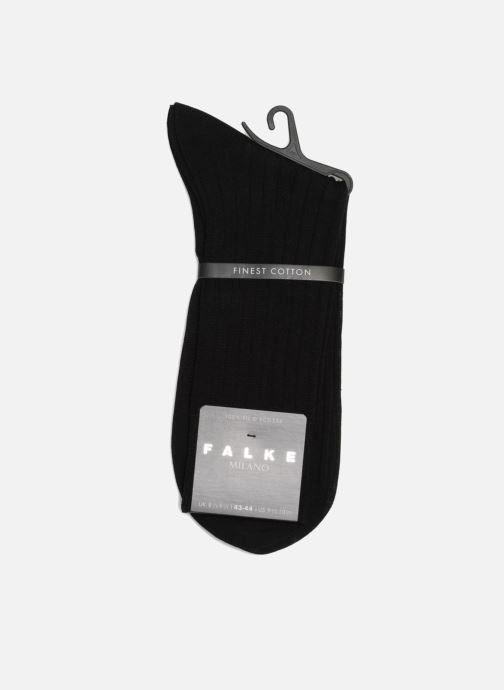 Chaussettes et collants Falke Chaussettes MILANO Noir vue droite
