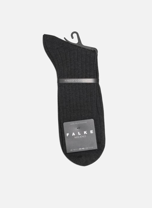 Chaussettes et collants Falke Chaussettes MILANO Gris vue droite