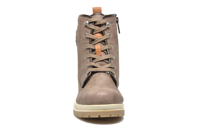 Bottines et boots Mustang shoes Lumia Beige vue portées chaussures