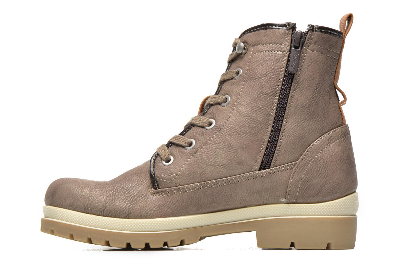 Bottines et boots Mustang shoes Lumia Beige vue face