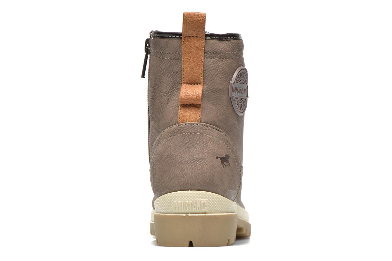 Bottines et boots Mustang shoes Lumia Beige vue droite