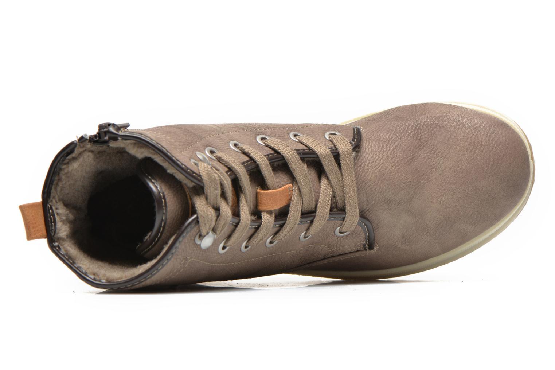 Bottines et boots Mustang shoes Lumia Beige vue gauche
