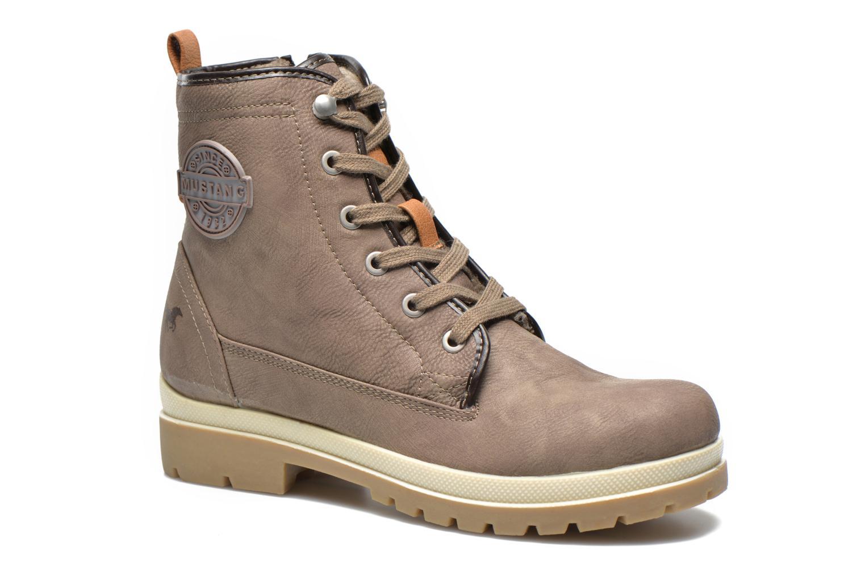 Bottines et boots Mustang shoes Lumia Beige vue détail/paire