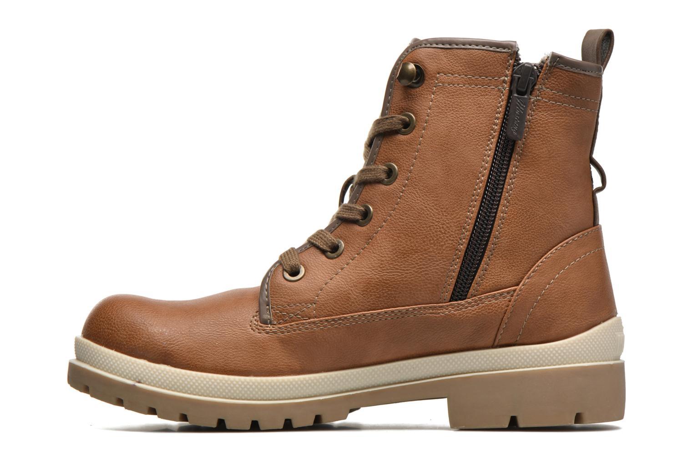 Boots en enkellaarsjes Mustang shoes Lumia Bruin voorkant