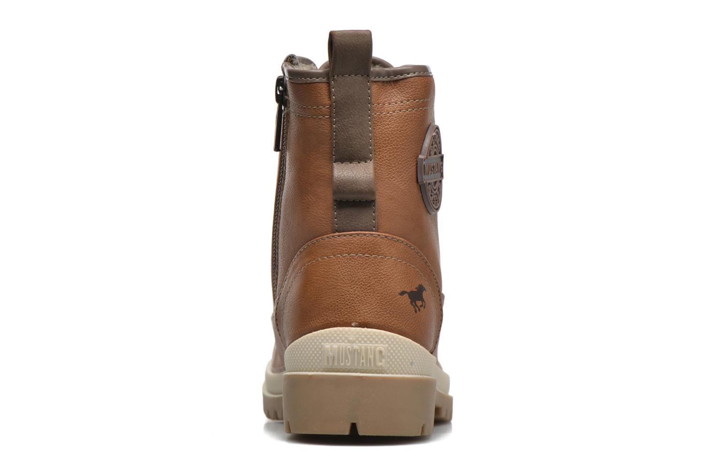 Boots en enkellaarsjes Mustang shoes Lumia Bruin rechts