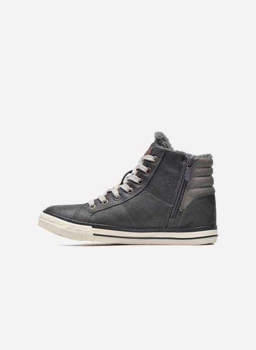 Sneaker Mustang shoes Dana grau ansicht von vorne