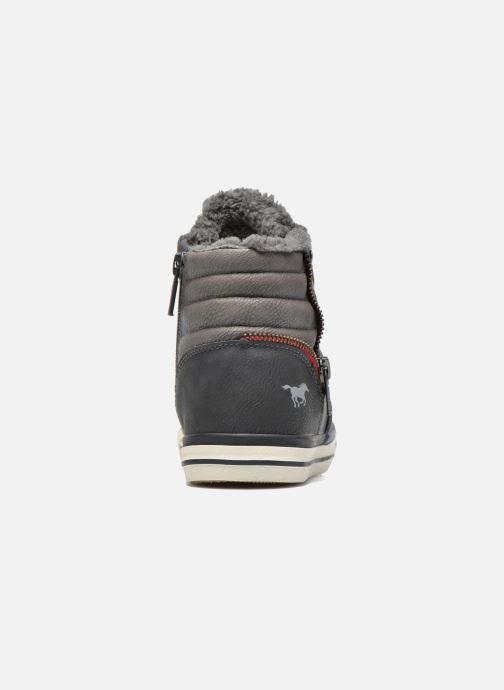 Sneaker Mustang shoes Dana grau ansicht von rechts