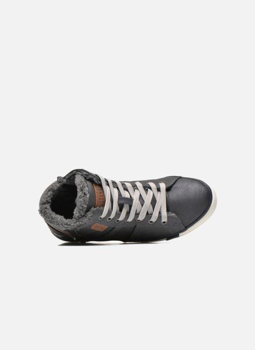 Sneaker Mustang shoes Dana grau ansicht von links