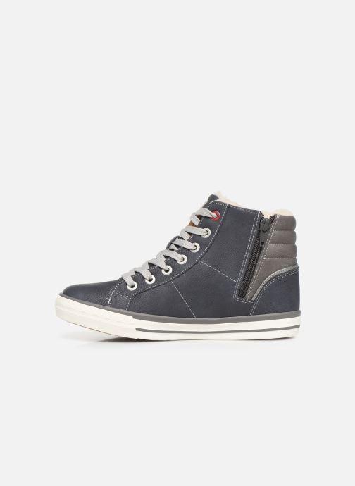Sneaker Mustang shoes Dana blau ansicht von vorne