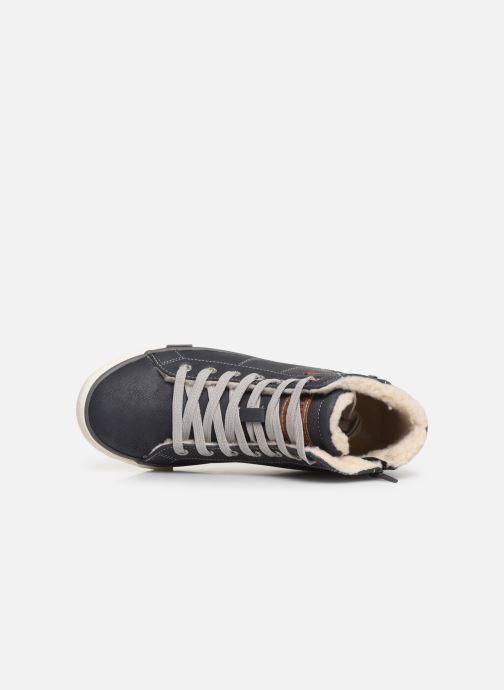 Sneaker Mustang shoes Dana blau ansicht von links