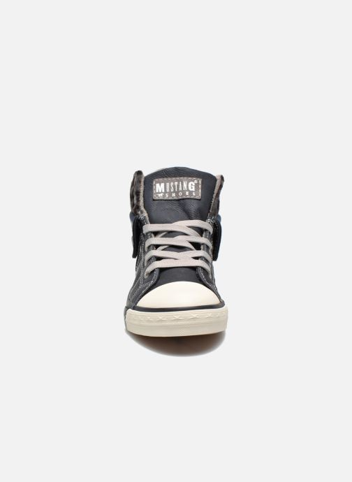 Sneakers Mustang shoes Elena Blauw model
