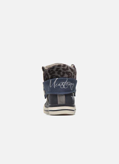 Sneakers Mustang shoes Elena Blauw rechts