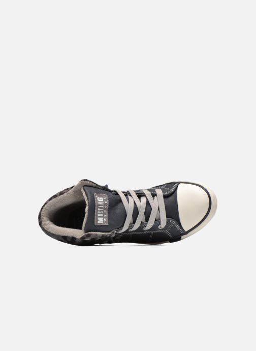 Sneakers Mustang shoes Elena Azzurro immagine sinistra