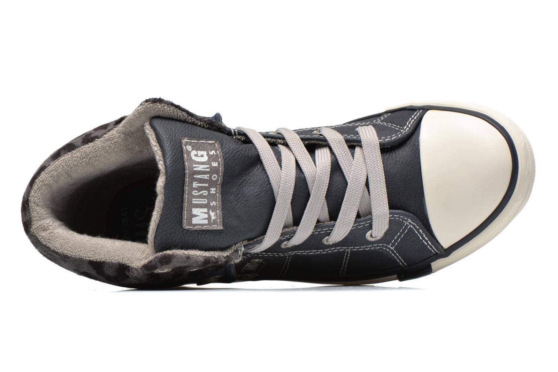 Baskets Mustang shoes Elena Bleu vue gauche