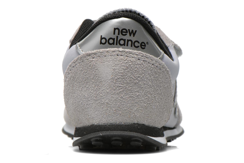 Sneaker New Balance KE410 J grau ansicht von rechts