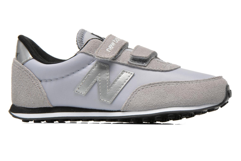 Sneaker New Balance KE410 J grau ansicht von hinten