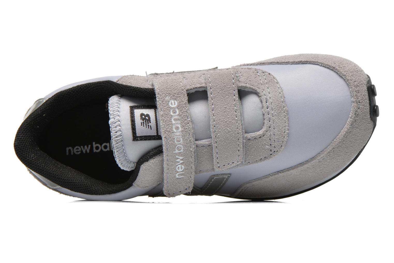 Sneaker New Balance KE410 J grau ansicht von links