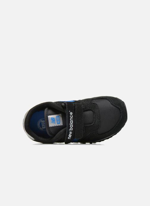 Sneaker New Balance KE420 I schwarz ansicht von links