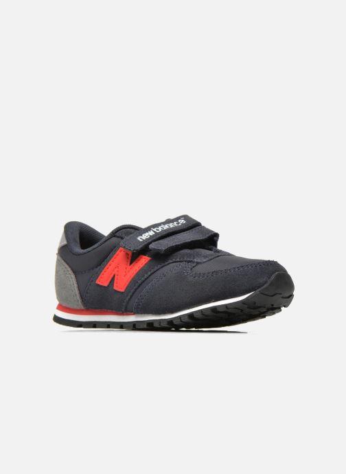 Sneaker New Balance KE420 I blau ansicht von hinten