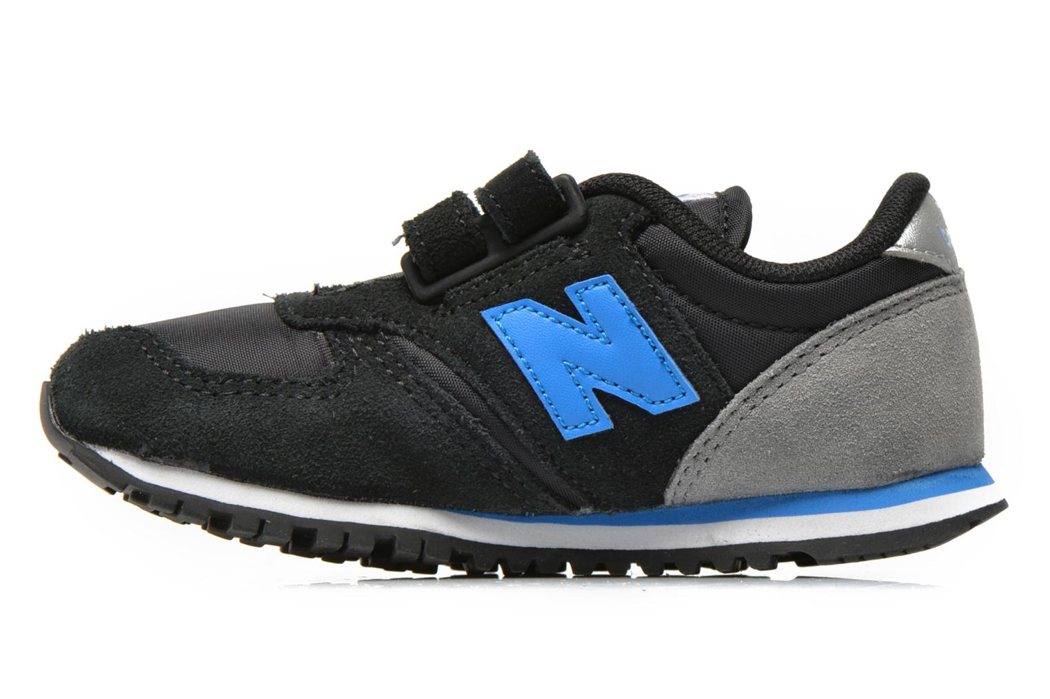 Baskets New Balance KE420 I Noir vue face