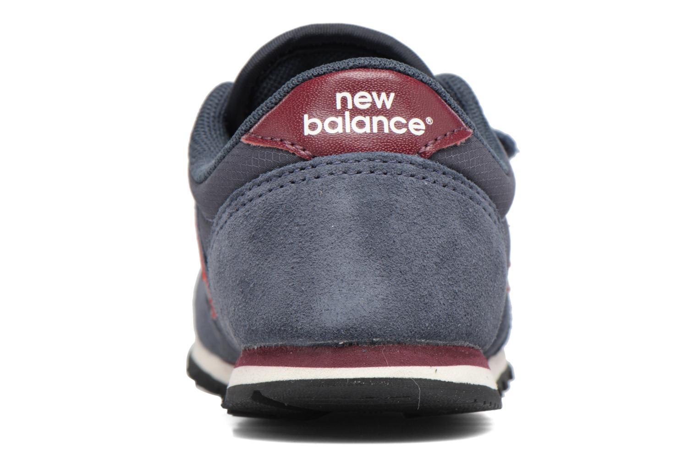 Baskets New Balance KE420 I Bleu vue droite