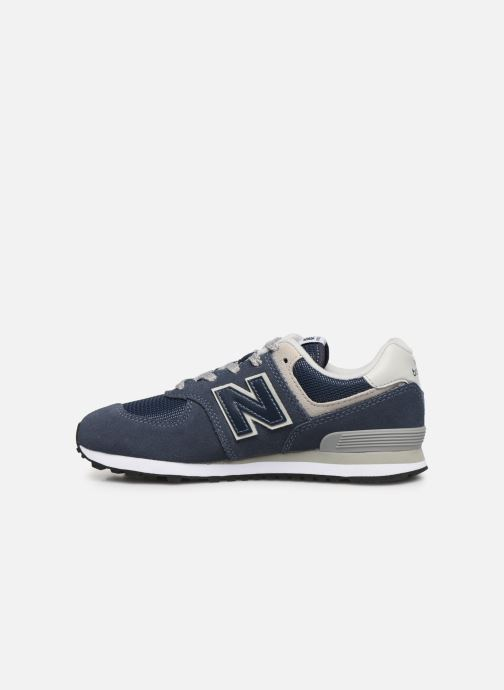 Baskets New Balance KL574 J Bleu vue face