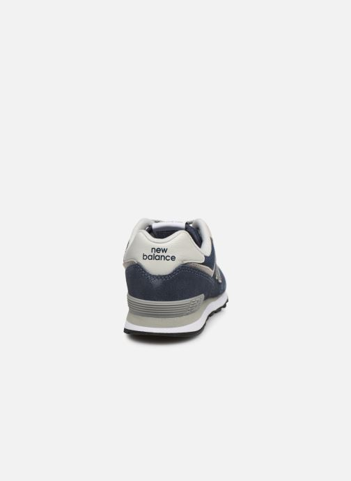 Sneakers New Balance KL574 J Blauw rechts