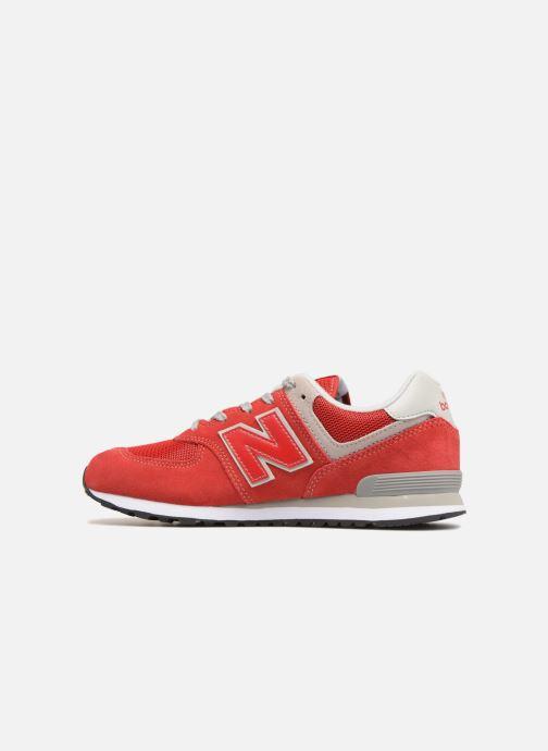 Deportivas New Balance GC574 Rojo vista de frente