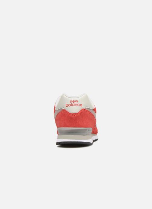 Sneakers New Balance KL574 J Rood rechts