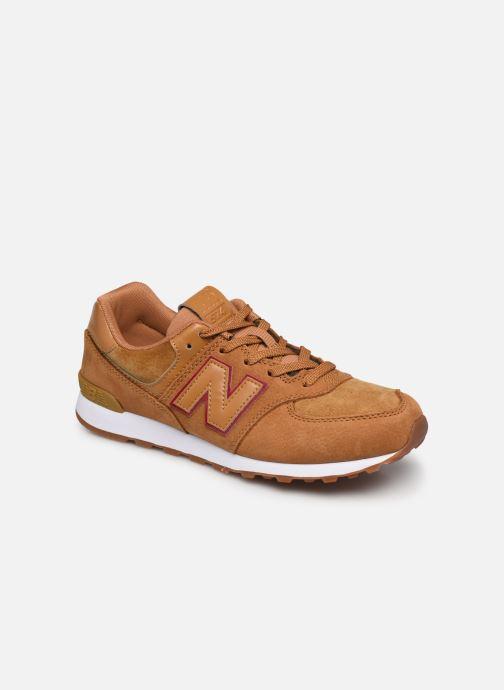 Sneaker New Balance GC574 braun detaillierte ansicht/modell