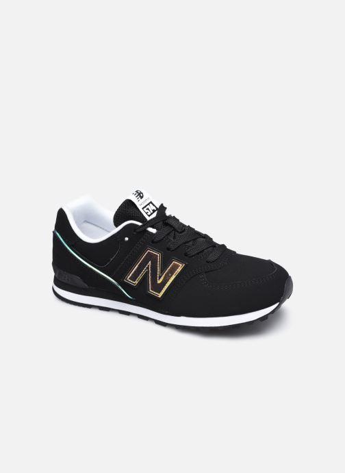 Sneaker New Balance GC574 schwarz detaillierte ansicht/modell
