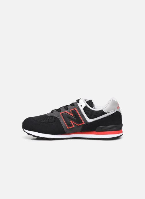 Sneaker New Balance GC574 schwarz ansicht von vorne