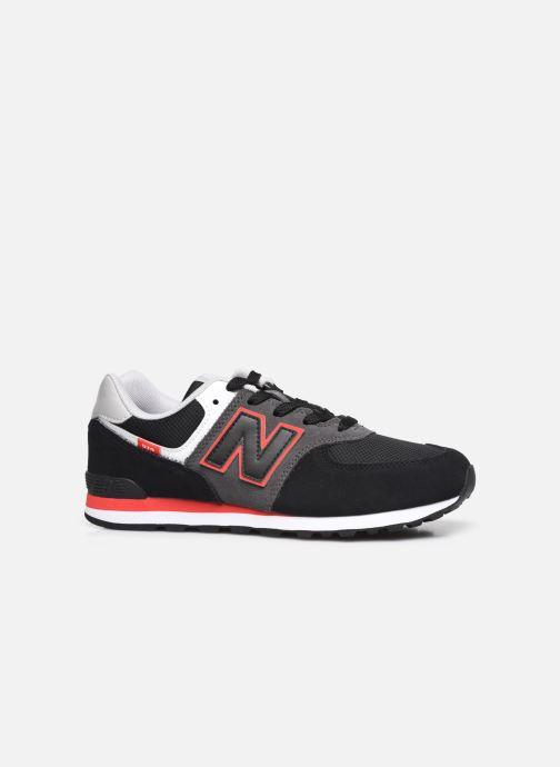Sneaker New Balance GC574 schwarz ansicht von hinten