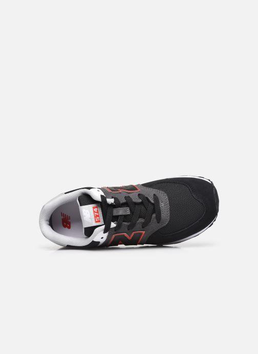 Sneaker New Balance GC574 schwarz ansicht von links