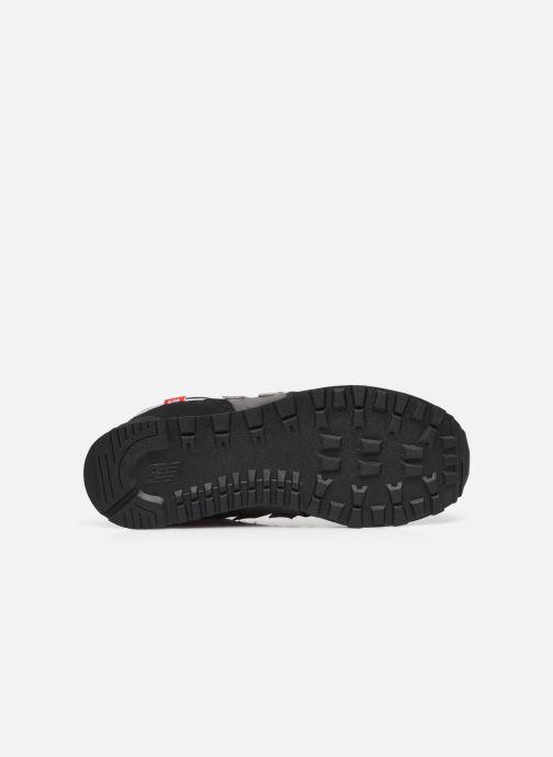 Sneaker New Balance GC574 schwarz ansicht von oben