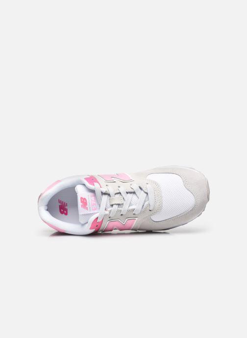 Sneaker New Balance GC574 grau ansicht von links